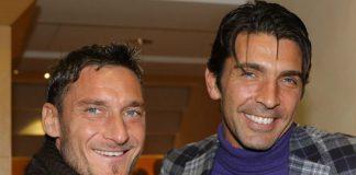 Buffon Totti uno di noi: ritorno in Nazionale