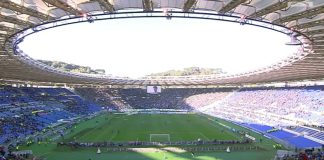 Roma-Lazio, via le barriere e l'Olimpico torna a riempirsi