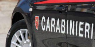 tivoli carabinieri furto