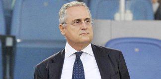 Calciomercato Lazio Claudio Lotito
