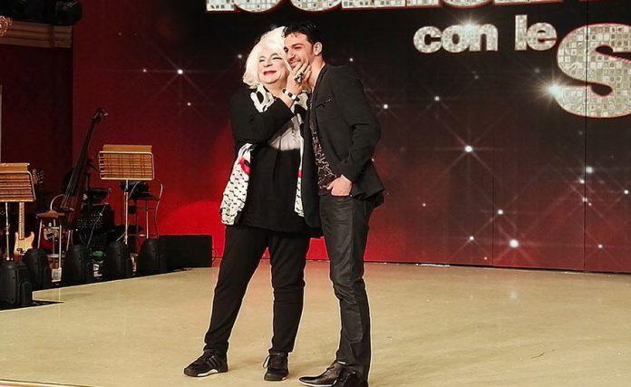 Platinette e Raimondo Todaro a Ballando con le stelle su Rai Uno