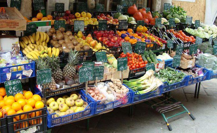 fruttivendolo, frutta, verdura