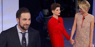 Gonzalo Higuain, Alessandra Amoroso, C'è Posta per Te, Maria De Filippi