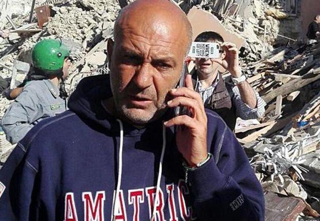 Sergio Pirozzi Amatrice