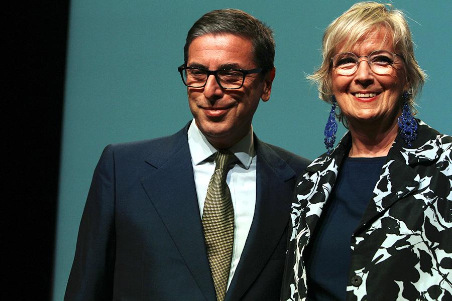 Antonio Monda e Piera Detassis (Foto Pizzi)