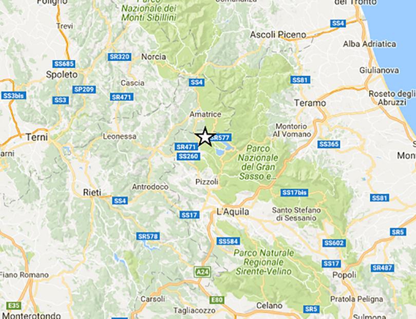 Terremoto Aquila Scossa