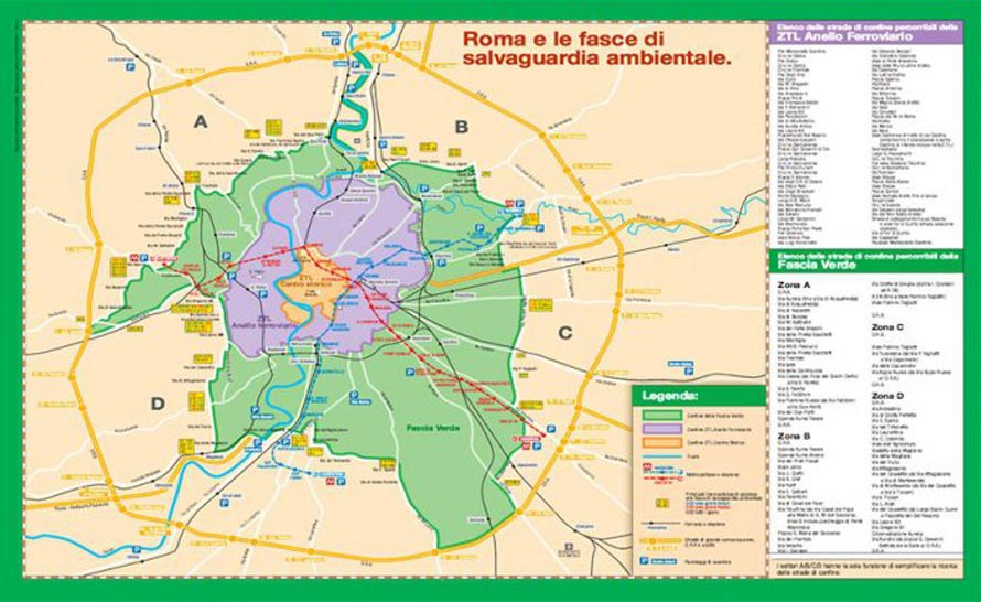 FASCIA VERDE ROMA