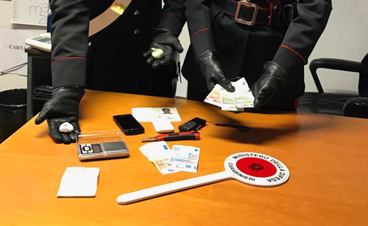 Ladispoli fuga pusher-carabinieri
