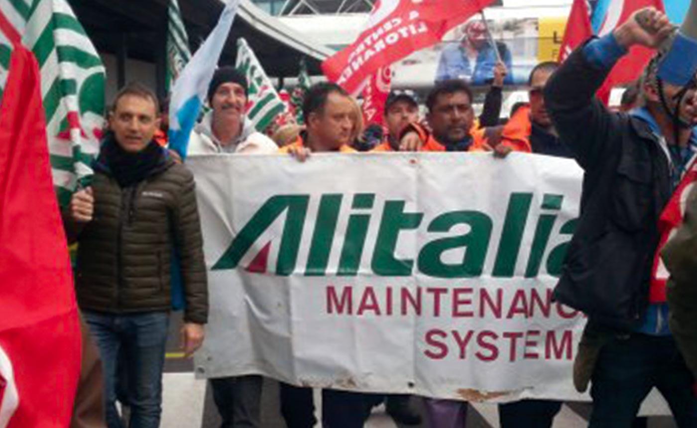 Alitalia Maintenance Systems Ams fiumicino