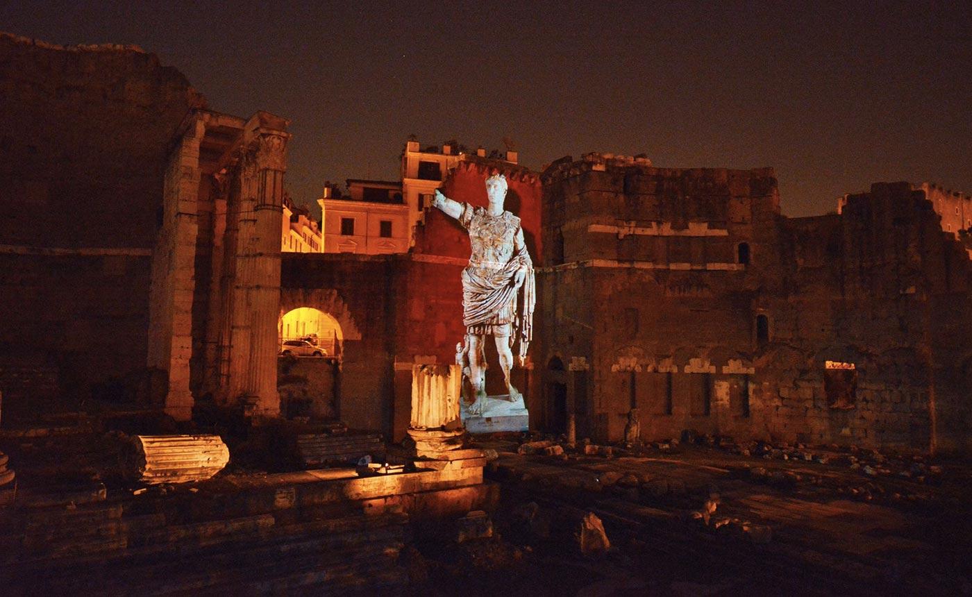 fori roma cesare augusto