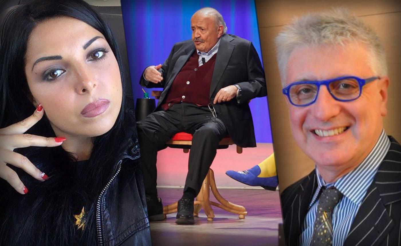 Nancy Coppola, Maurizio Costanzo e Alberico Lemme