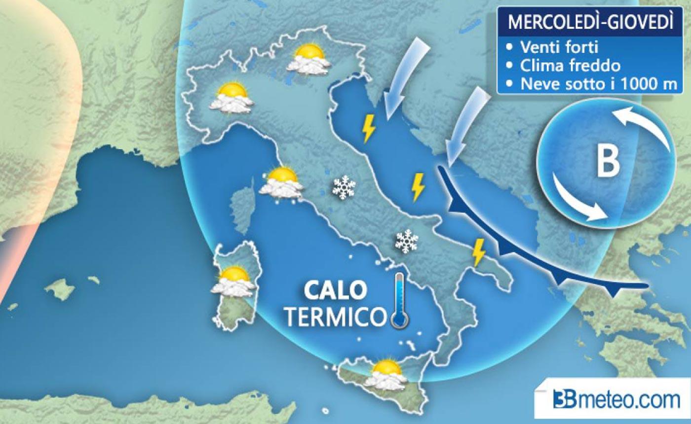 Meteo Roma, ondata di gelo tardivo: ecco quanto durerà il freddo