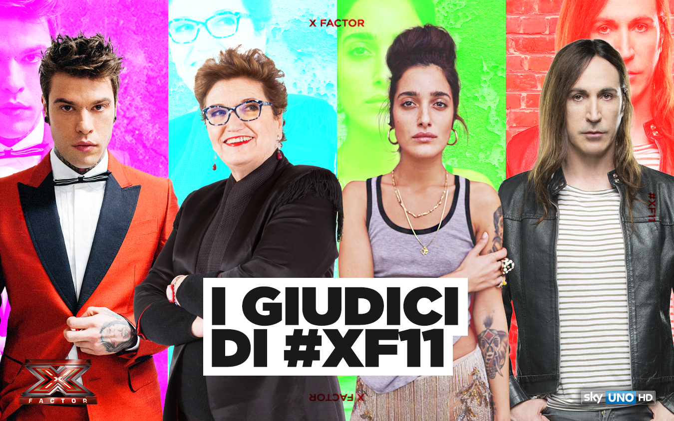 X Factor 2017 nuovi giudici