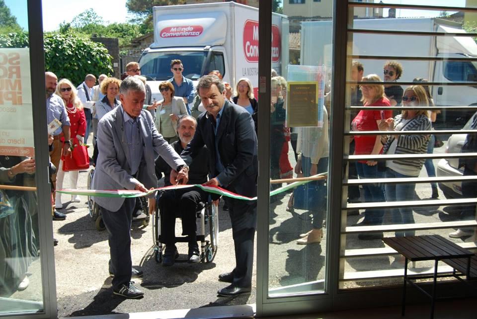 inaugurazione AISM manziana sclerosi multipla
