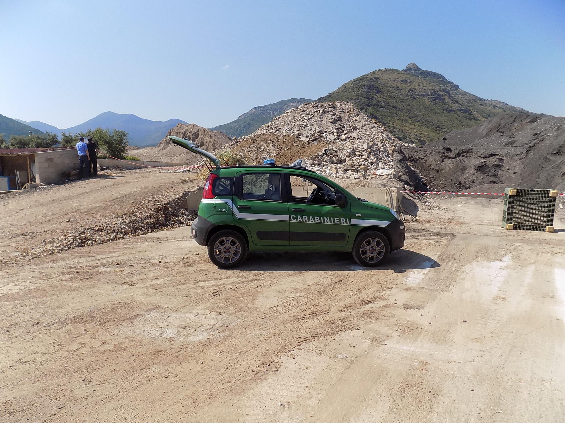 Monte San Biagio Regione Carabinieri Forestale Lazio Gruppo di Latina