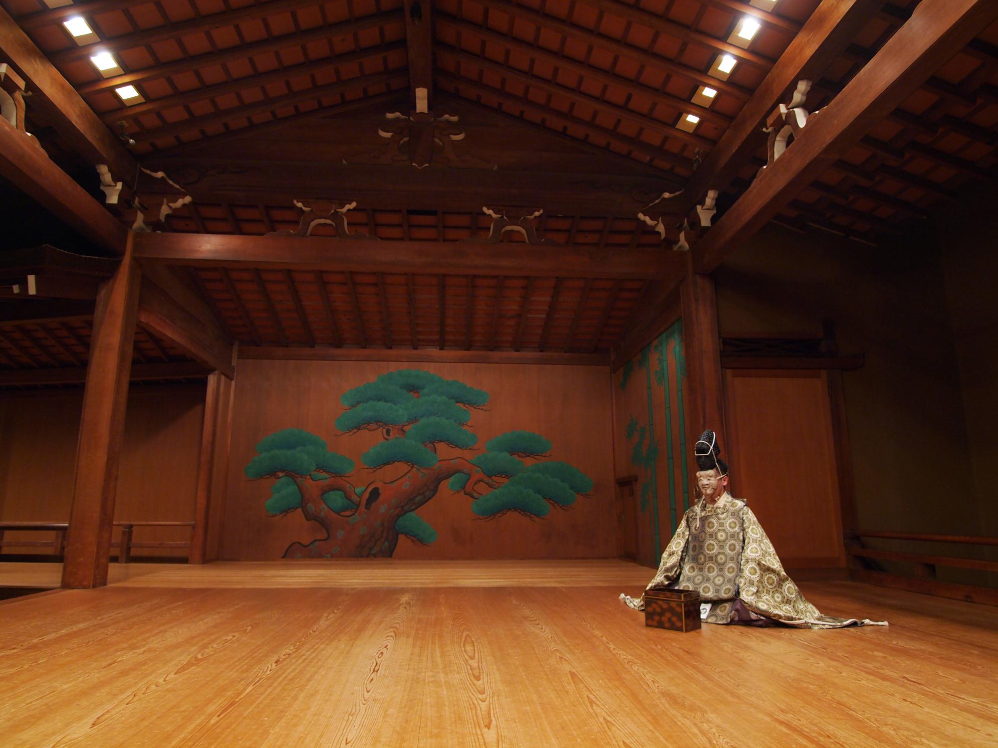 Vatican Kangin Noh, il teatro giapponese a Palazzo della Cancelleria