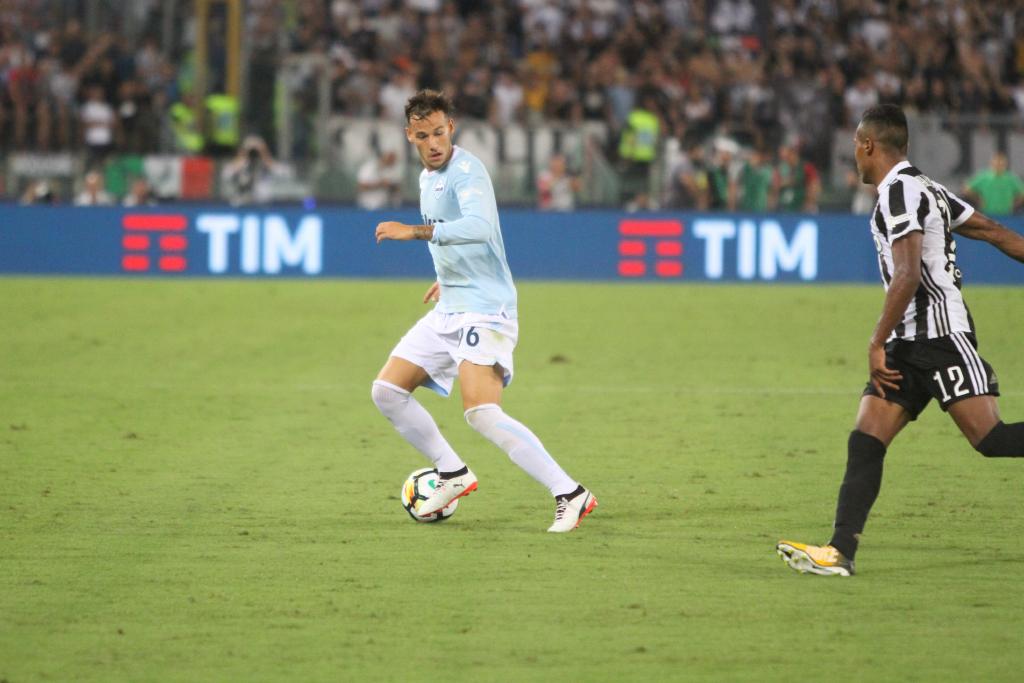 Murgia (Ss Lazio) nel match di Supercoppa con la Juventus (Foto Pizzi)