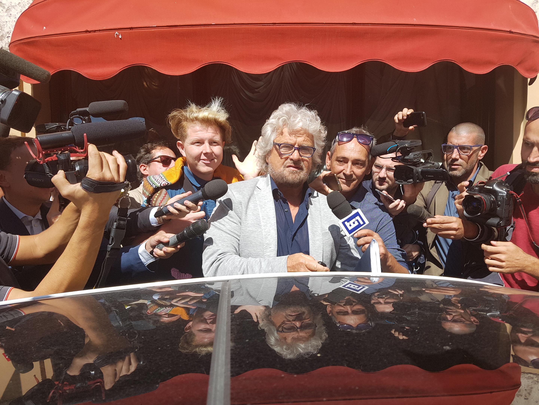 Beppe Grillo (Foto Dire)