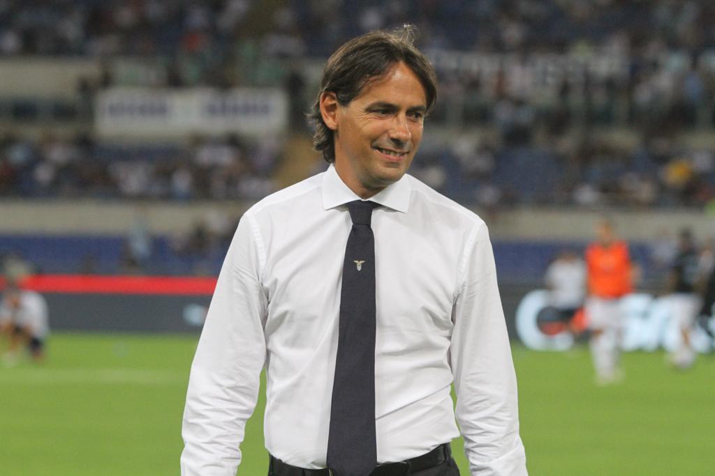 Ss Lazio, Simone Inzaghi (Foto Paolo Pizzi
