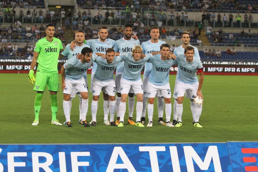Ss Lazio formazione (Foto Pizzi)