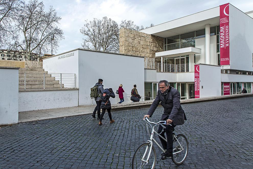 Roma, 01-02-2018. Ara Pacis. La mostra Magnum manifesto. Credits Foto - Stefano Dal Pozzolo