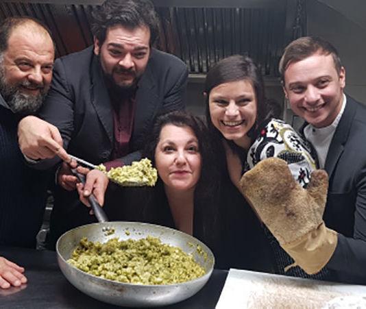 Da sin Mauro Trabalza (nipote di Fabrizi), Antonio Nobili, Mary Ferrara, Sara Morassut, Alessio Chiodini